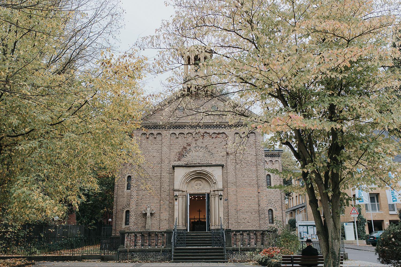 b55c3b6085 Trauung hochzeit Rigalschen Kapelle in Bonn